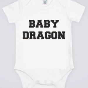 """Image de body bébé blanc """"Baby Potter - Harry Potter"""" - MCL Sérigraphie"""