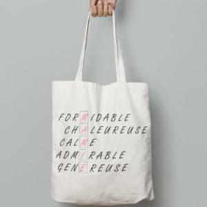 """Image de tote-bag """"Mamie"""" - MCL Sérigraphie"""
