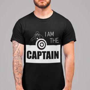 I am the captain homme noir