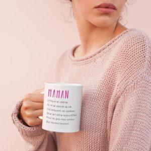 "Image de mug ""Maman"" - MCL Sérigraphie"