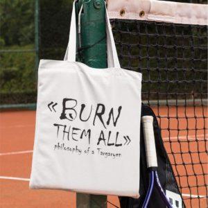 Tote-bag - Burn them all