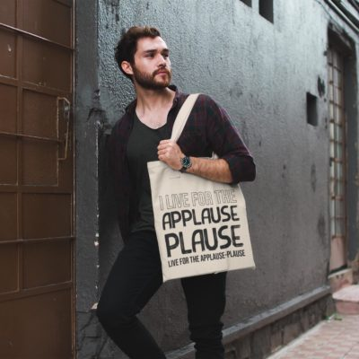 Tote-bag Applause Plause