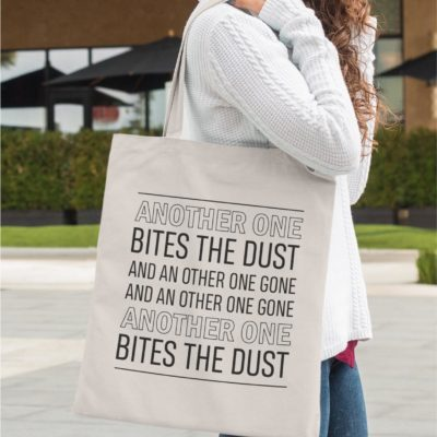 Tote-bag - Bites the dust