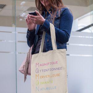 "Image de tote-bag ""Maman"" - MCL Sérigraphie"