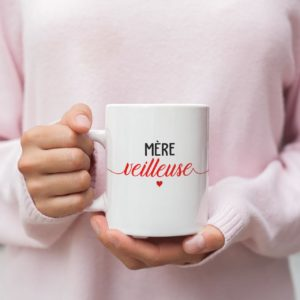 """Image de mug """"Mère Veilleuse"""" - MCL Sérigraphie"""