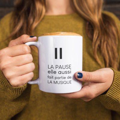 Mug La pause fait partie de la musique