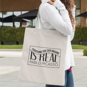 Tote-bag - everything you can imagine is real