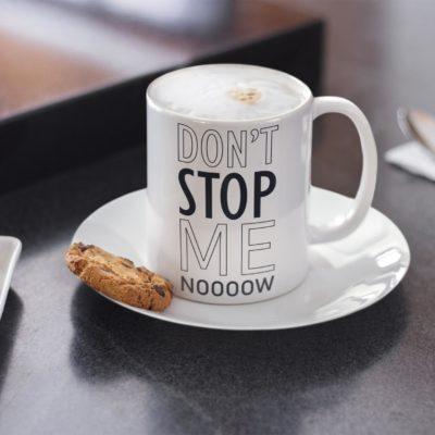 """Image de mug """"Don't stop me now - Queen"""" - MCL Sérigraphie"""