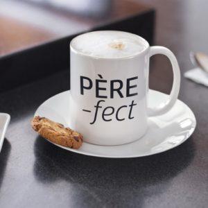 "Image de mug ""Père-fect"" - MCL Sérigraphie"