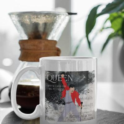 "Image de mug ""Freddie Mercury"" - MCL Sérigraphie"