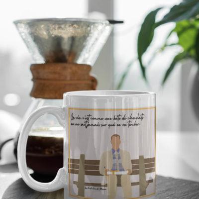 """Image de Mug """"Forrest Gump"""" - MCL Sérigraphie"""