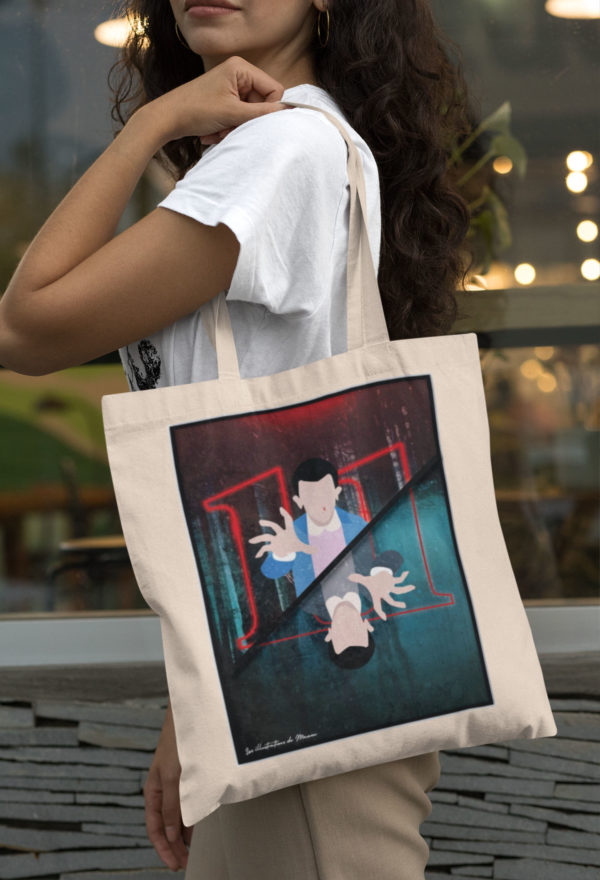 "Image de tote-bag ""Stranger Things"" - MCL Sérigraphie"