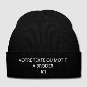 Bonnet à broder