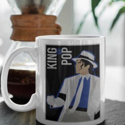 "Image de mug ""Michael Jackson"" - MCL Sérigraphie"