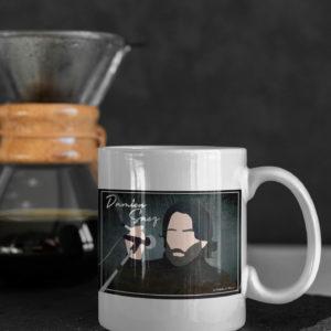 "Image de mug ""Damien Saez"" - MCL Sérigraphie"