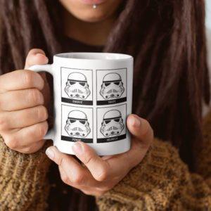 """Image de mug """"Stormtrooper - Star Wars"""" - MCL Sérigraphie"""