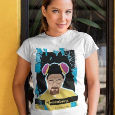 t-shirt femme heisenberg Breaking Bad