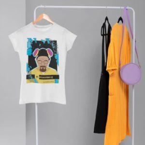 t-shirt femme breaking bad