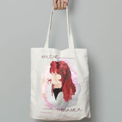 "Image de tote-bag ""Mylène Farmer"" - MCL Sérigraphie"