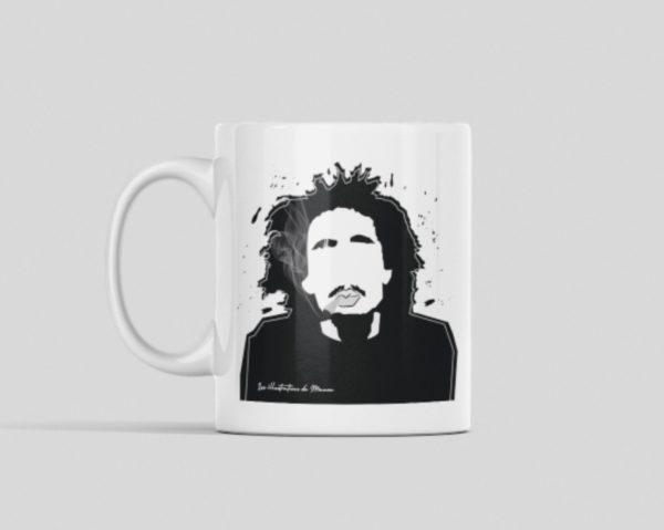 """Image de mug """"Bob Marley"""" - MCL Sérigraphie"""
