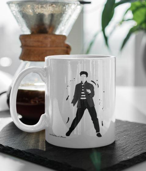 """Image de mug """"Elvis Presley"""" - MCL Sérigraphie"""