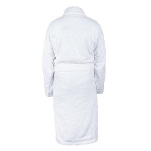 Peignoir blanc unisex