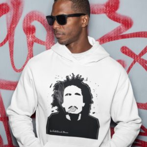 sweat homme bob marley les illustrations de manon