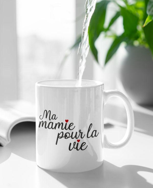 "Image de mug ""Ma mamie pour la vie"" - MCL Sérigraphie"