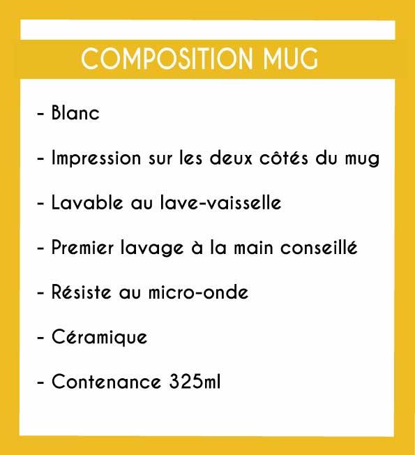Image de la composition des mugs - MCL Sérigraphie