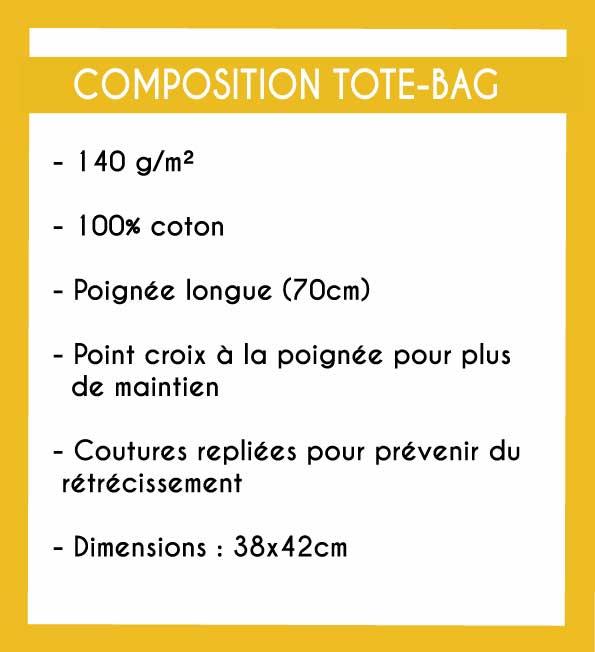 Image de la composition des totes-bags - MCL Sérigraphie