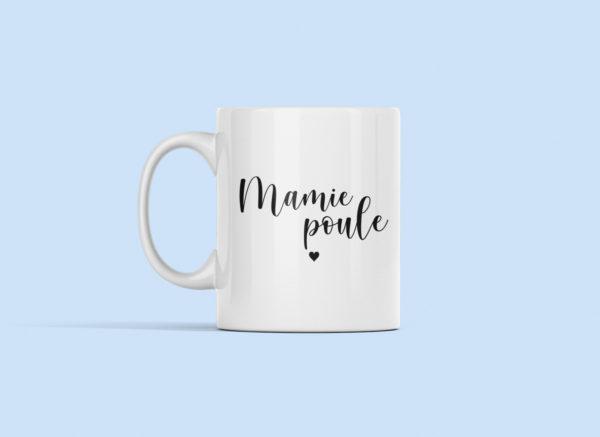 """Image de mug """"Mamie Poule"""" - MCL Sérigraphie"""