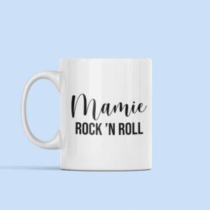 "Image de mug ""Mamie Rock'N Roll""- MCL Sérigraphie"