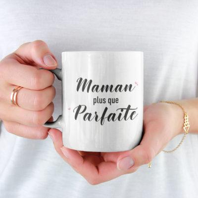 "Image de mug ""Maman plus que parfaite"" - MCL Sérigraphie"
