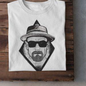 """Image de t-shirt blanc """"Heisenberg"""" - MCL Sérigraphie"""