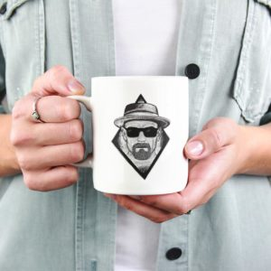 """Image de mug """"Heisenberg""""- MCL Sérigraphie"""