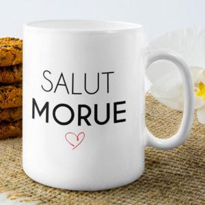 """Image de mug """"Salut Morue"""" l MCL Sérigraphie"""